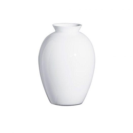 Lopas White Vase
