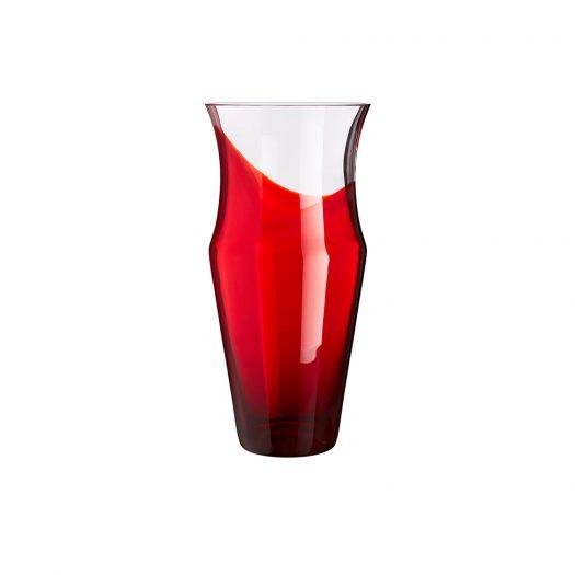 Monocromo Red Vase