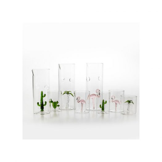 Palma Set of 4 Glasses and Pitcher
