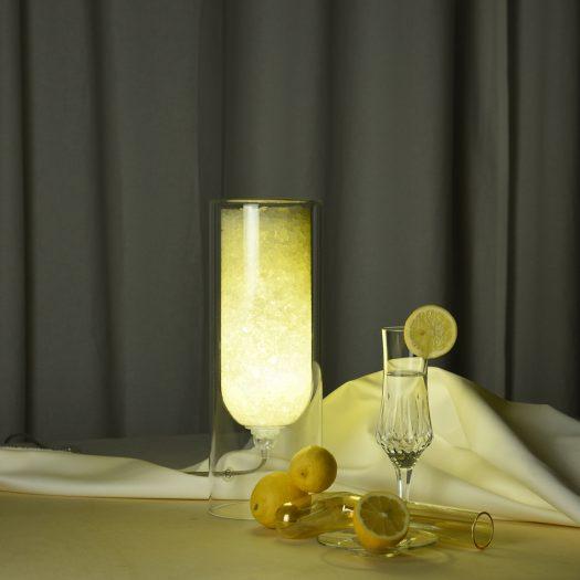 Spherical XXS Yellow Table Lamp
