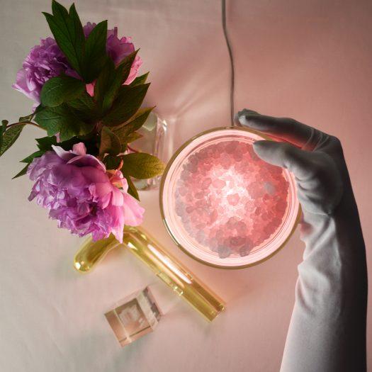 Spherical XXS Pink Table Lamp