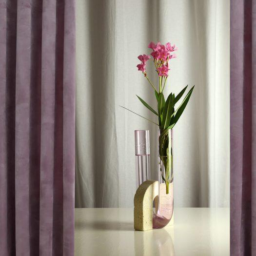 Cochlea della Liberazione Pink Vase
