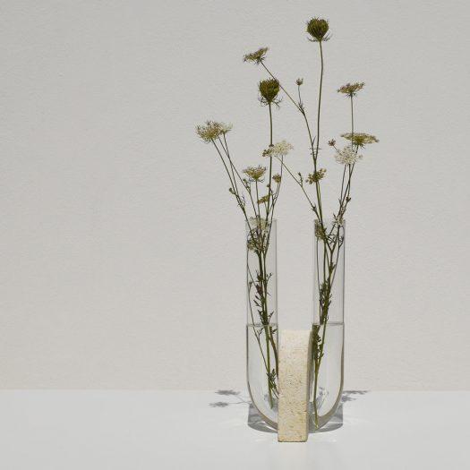 Cochlea della Liberazione White Vase