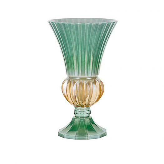 Green Crystal Doge Vase