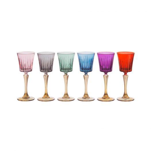 Set of 6 Domina Liquor Chalices