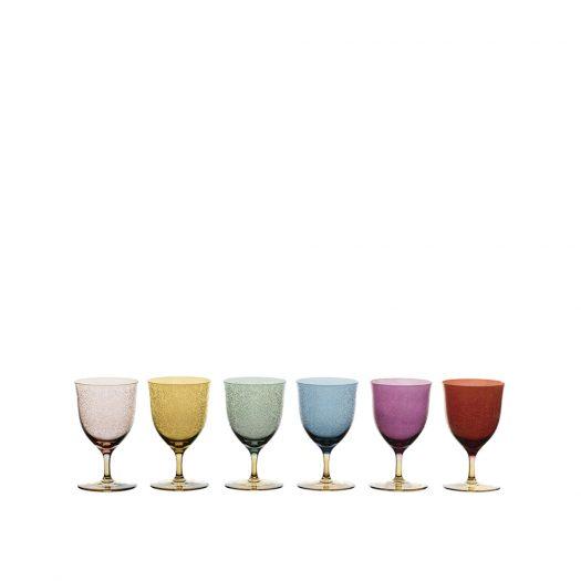 Set of Six Torcello 5 Stem Glasses