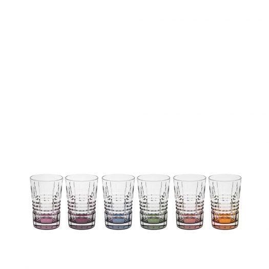 Incontro Set of 6 Glasses