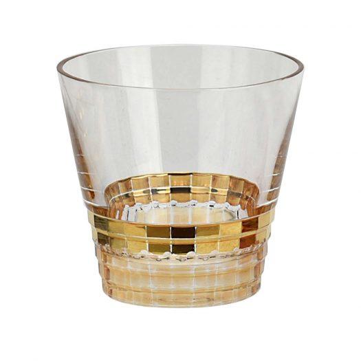 Golden Whiskey Tumbler
