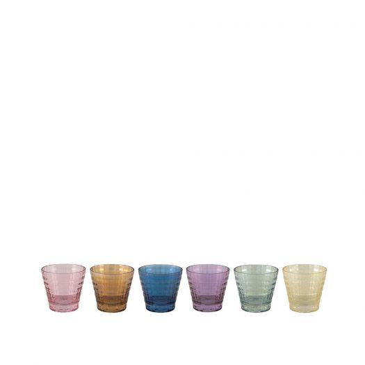 Tokyo Set of 6 Low Water Glasses
