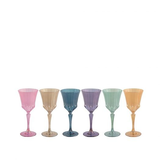 Canal Set of 6 Water Glasses