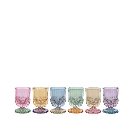 Ada 08 Set of 6 Water Glasses with Stem