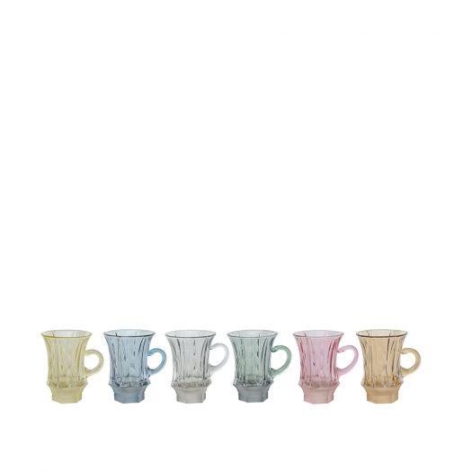 Mistral Matt 06 Set of 6 Espresso Cups