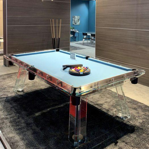 Filotto Dusty Blue/Black Billiard Table