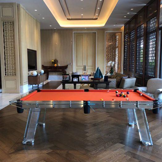 Filotto Orange/Black Billiard Table