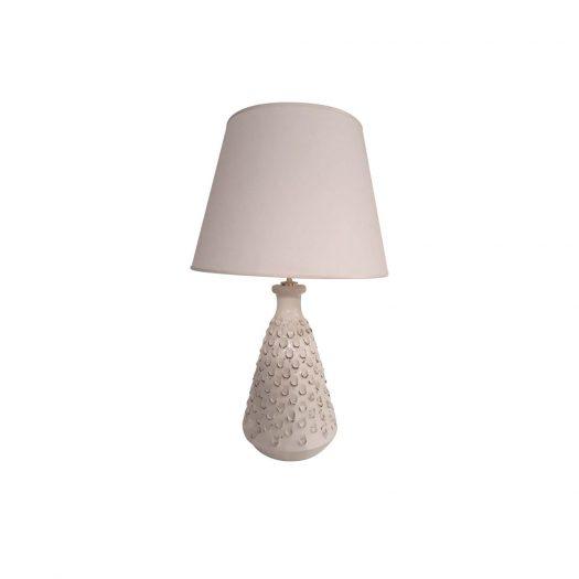 White Lamp Base