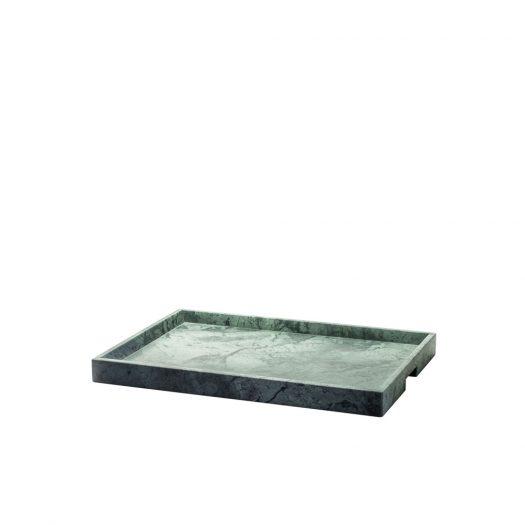 Convivio Maxi Tray in Green Guatemala Marble