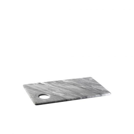 Convivio Mini Trivet in Grey Bardiglio Marble