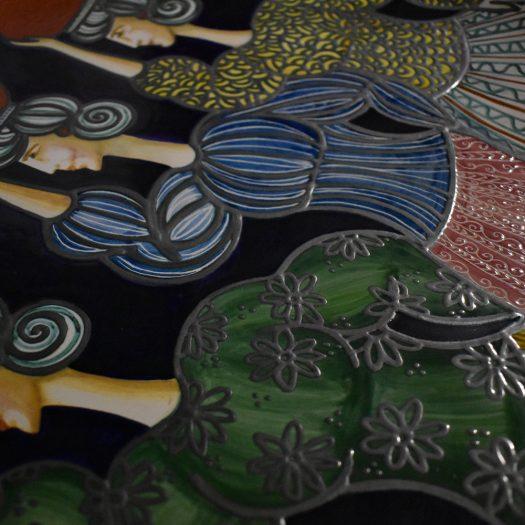 Le Portatrici Large Decorative Plate