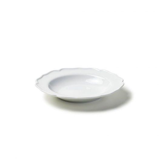 Deep Plate White