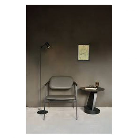 Dc Lounge Chair – Olive Green Leather