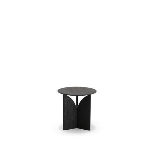 Teak Fin Side Table