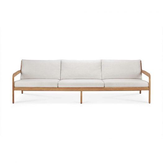 Teak Jack Outdoor Sofa -Off White