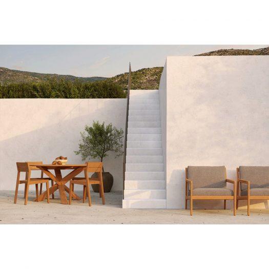 Teak Ex 1 Outdoor Dining Chair