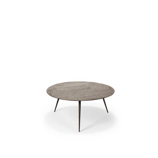 Luna Coffee Table - Lava - Taupe