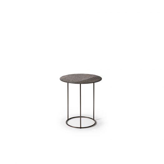 Celeste Side Table - Lava Linear - Whisky