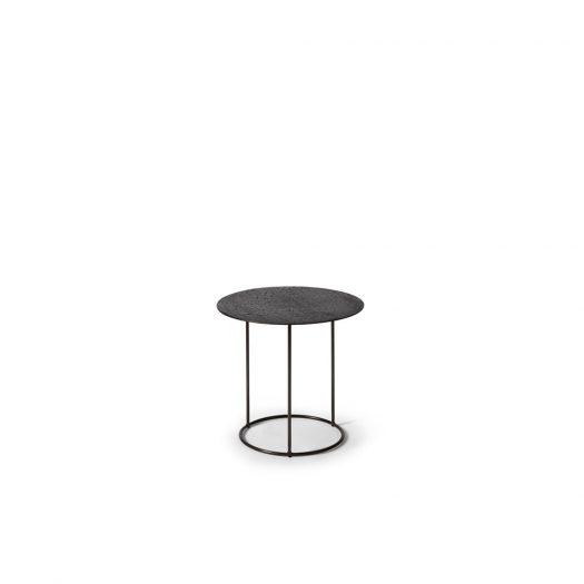 Celeste Side Table - Lava - Black