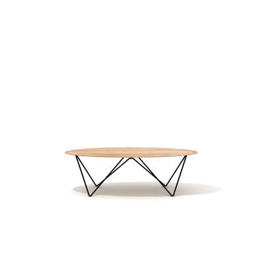 Oak Orb Coffee Table