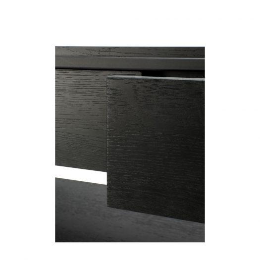Oak Monolit Black Console