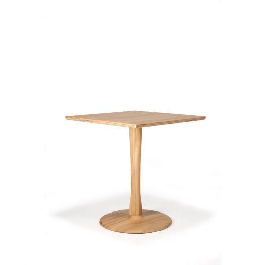 Oak Torsion Square Dining Table
