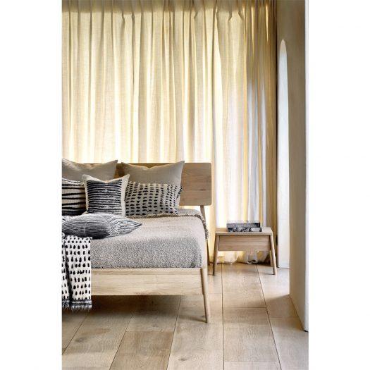 Oak Air Bedside Table