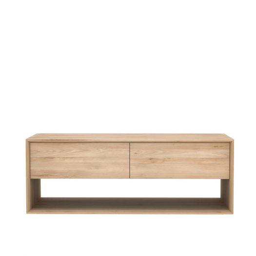 Oak Nordic Tv Cupboard