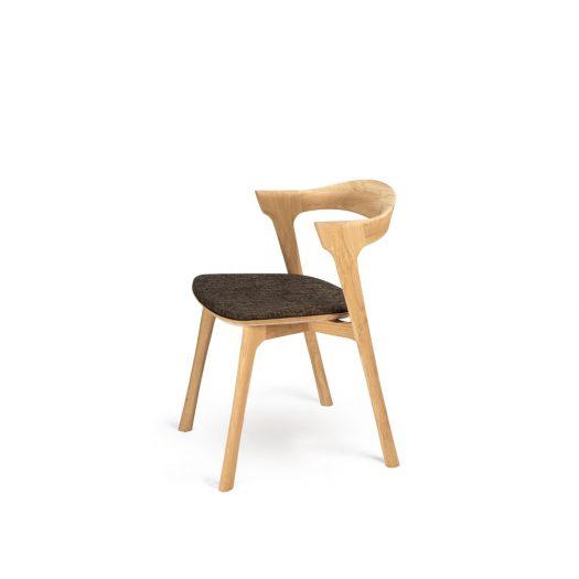 Oak Bok Dining Chair - Dark Brown