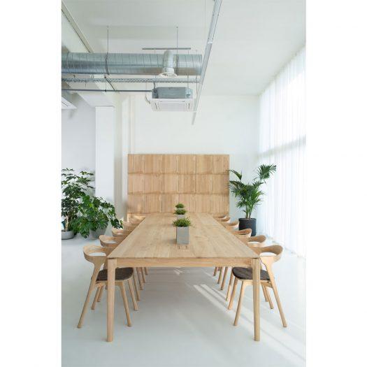 Oak Bok Dining Chair – Dark Brown