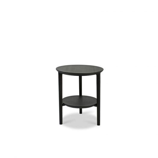 Oak Bok Black Side Table