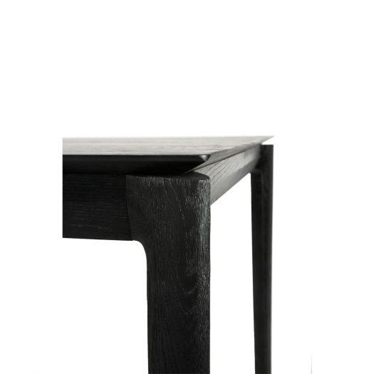 Oak Bok Black Dining Table