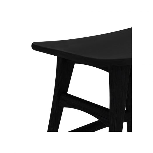 Oak Osso Black Counter Stool – Contract Grade