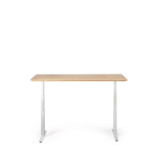 White Metal Frame - For Bok Adjustable Desk