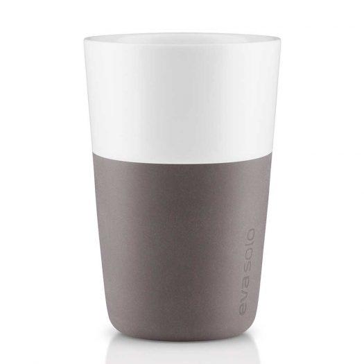 2 Cafe Latte Tumbler Grey
