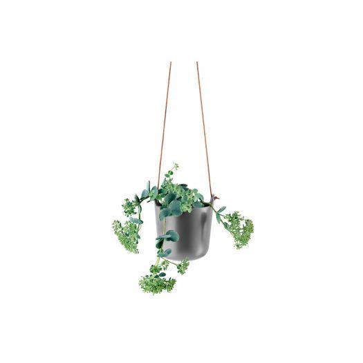 Selfwatering Pots Hanging Nordic Grey
