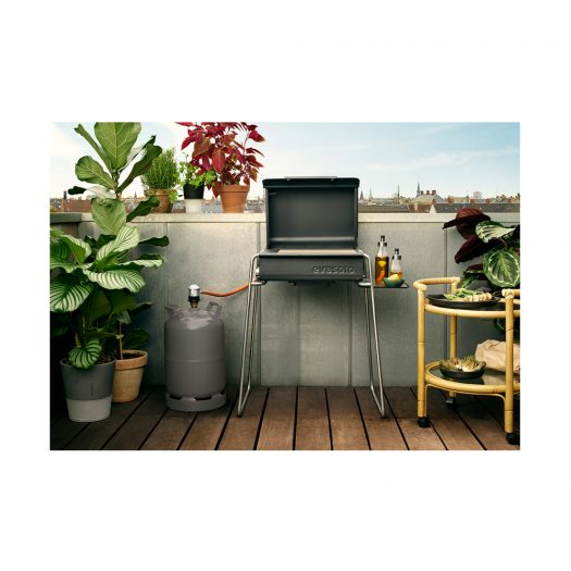 Box Gas Grill Legs & Side Table