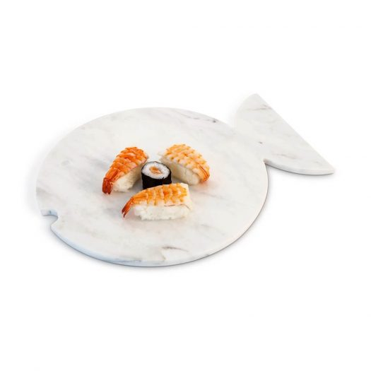 Fish-shaped Marble Plate