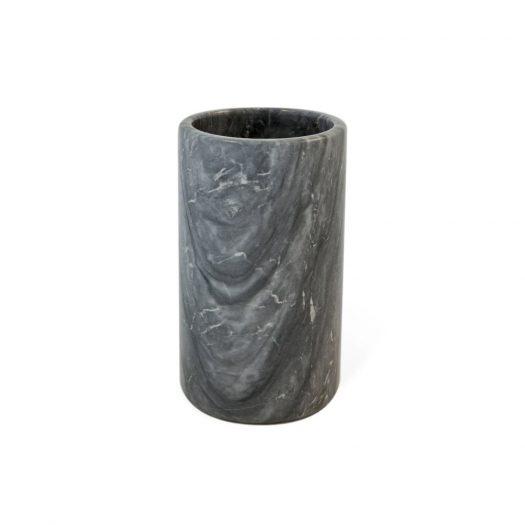 Marble Utensil Holder Grey