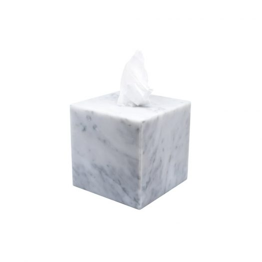 Marble Tissue Box Cover