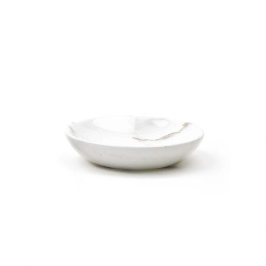 Little Marble Plates White