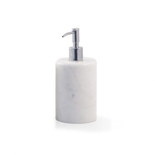 Marble Soap Dispenser White