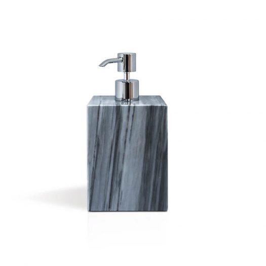 Marble Soap Pump Dispenser Grey